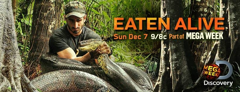 Discovery Channel to Premier ''Eaten Alive'' in India on 31st