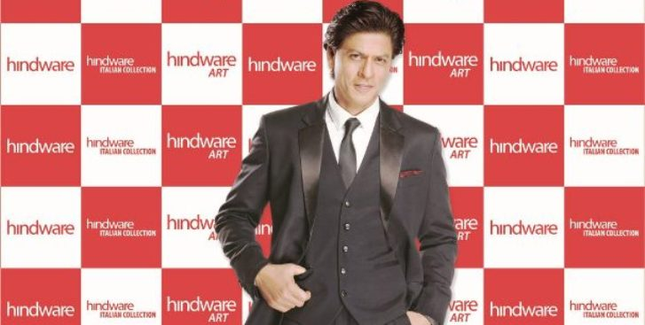 Hindware signs Shah Rukh Khan as new brand ambassador