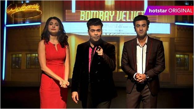 Team Bombay Velvet chose to connect with fans in a 1-hour special, exclusively on hotstar