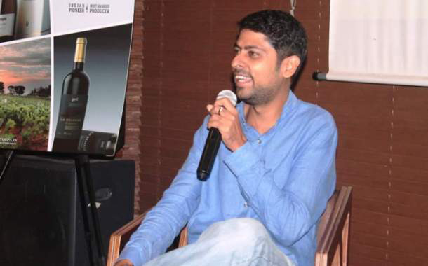 Varun Grover addresses the third Edition of 'The Commune'