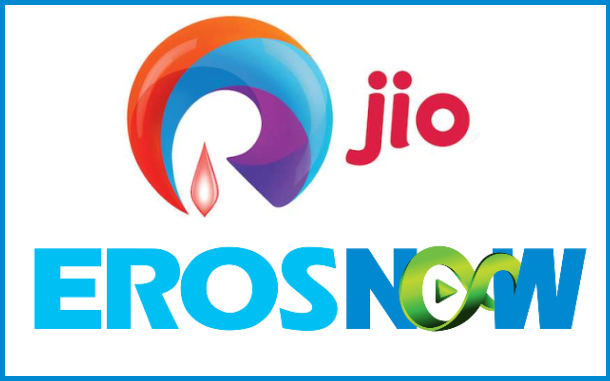 Eros Now inks deal with Reliance Jio for placement in Jio ecosystem