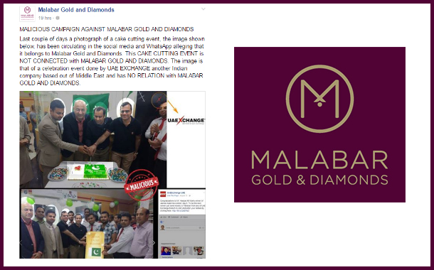 Brand Malabar Gold on damage control mode in Pak I Day celebration Issue