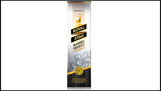 Seagram's Royal Stag Barrel Select goes for new look and Package Perfection