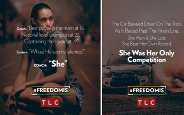TLC's Digital Campaign #FreedomIs touches a chord with Women