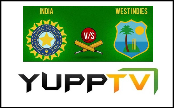 YuppTV acquires exclusive for Live Streaming of Ind vs WI T20 in US
