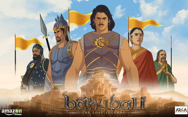 "Amazon Prime Video partners with S.S. Rajamouli and others to launch ""Baahubali:  The Lost Legends"" animated series"