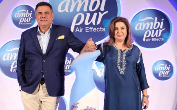 Boman Irani and Farah Khan bat for Ambi Pur's victory against the worst home odours