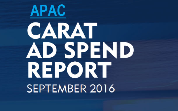 Carat revises down APAC ad spend growth forecast for 2016 from 4.4% to 3.9%