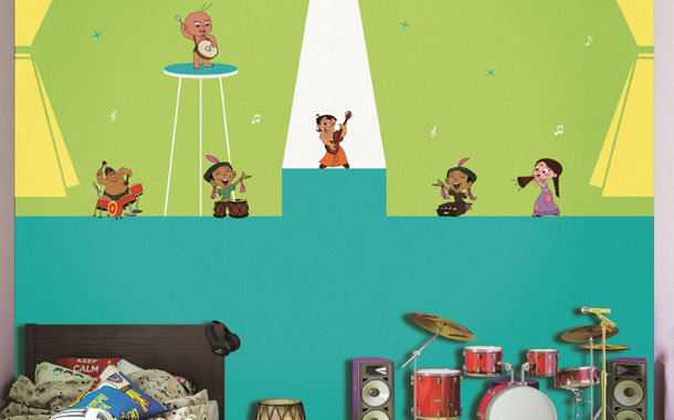 Asian Paints Kids' World introduces new wall theme kids inspired by beloved fictional superhero 'ChhotaBheem