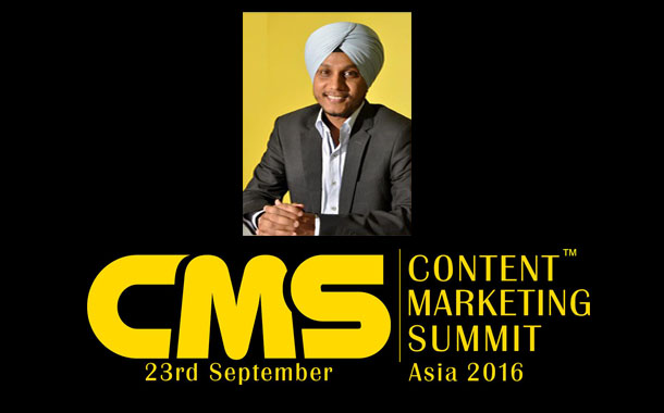 Content Marketing Summit Asia 2016 set for a bold statement on 23 Sept