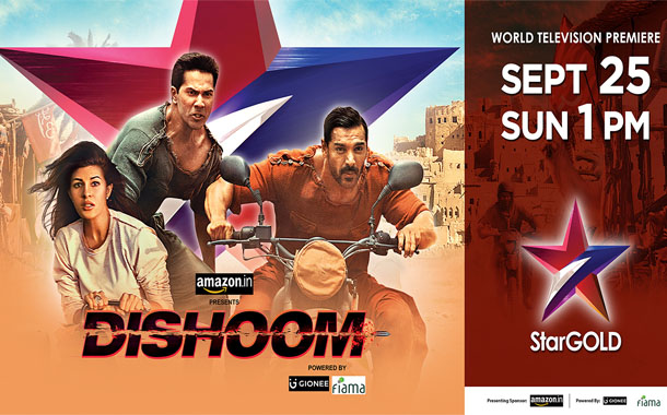Star Gold kicks off the festive season with the Dishoom World Television premiere