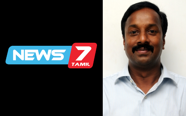News7 Tamil appoints R Vijay Anand as GM - National Sales