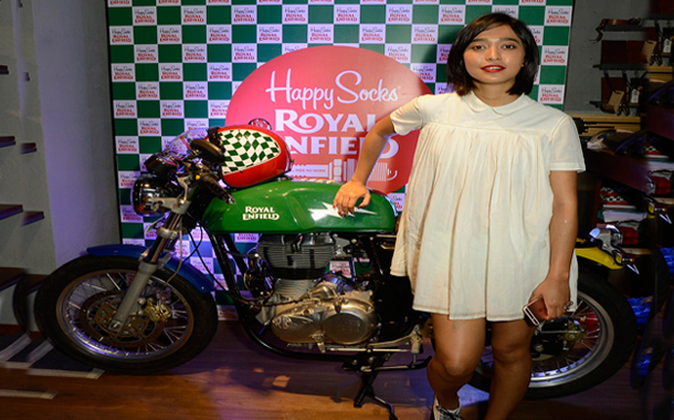 Royal Enfield and Happy Socks form exclusive collaboration to create limited-edition capsule collection