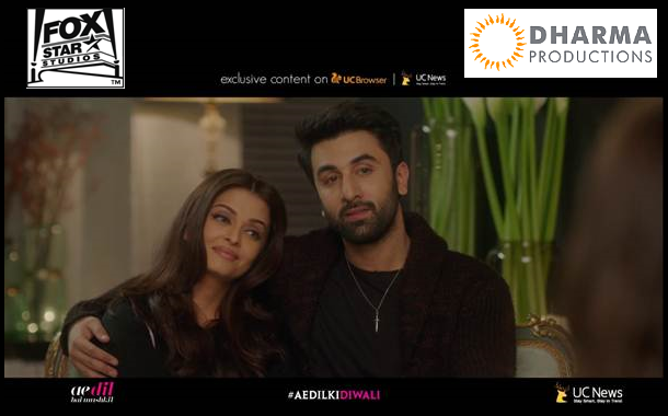 UCWeb partners with Fox Star Studios and Dharma Productions to promote 'Ae Dil Hai Mushkil'