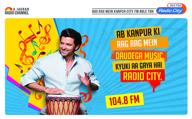 Hrithik Roshan launches Radio City Kanpur 104.8FM, 6th station in Kanpur