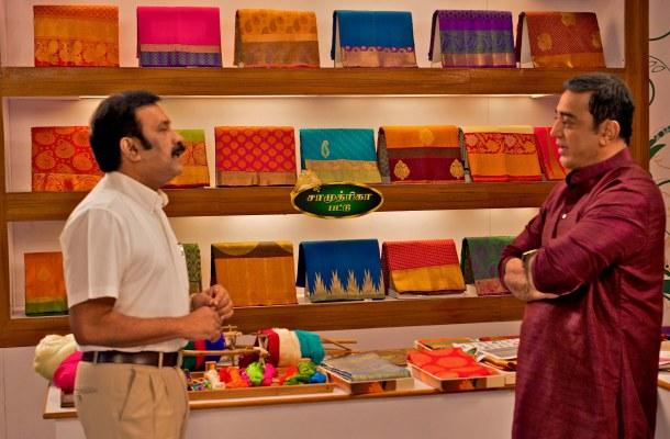 Pothys Ramesh with Kamal