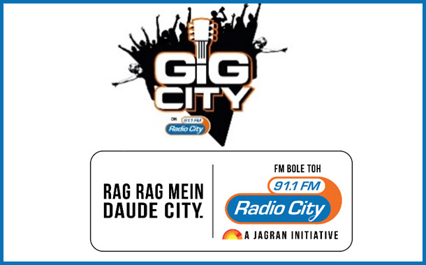 India's first Live Radio Concert- Radio City's Gig City, a smashing success amongst 5 Cr Indians