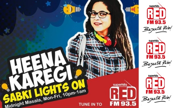 Red FM's 'HeenaKaregiSabkiLights On' diwali campaign focusing on safer cities for women