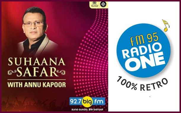 Radio One 95 FM obtains rights to air Big FM's Suhaana Safar with Annu Kapoor' in Ahmedabad
