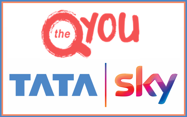 The QYOU partners with Tata Sky mobile app for expansion in India