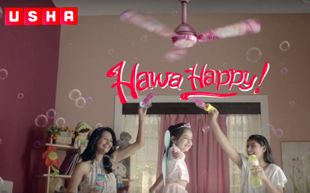 Usha International rolls out Hawa Happy campaign for Fans