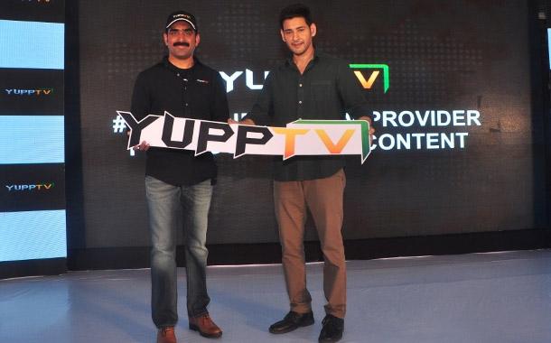 YuppTV signs actor Mahesh Babu as its Brand Ambassador