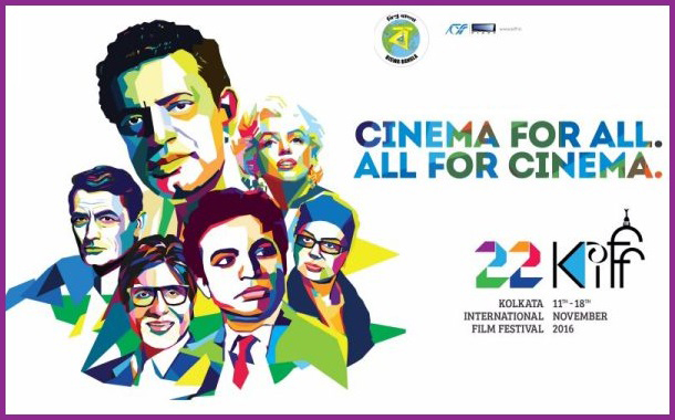 'Cinema for all. All for cinema' campaign by Rediffusion Y&R for 22nd Kolkata International Film Festival
