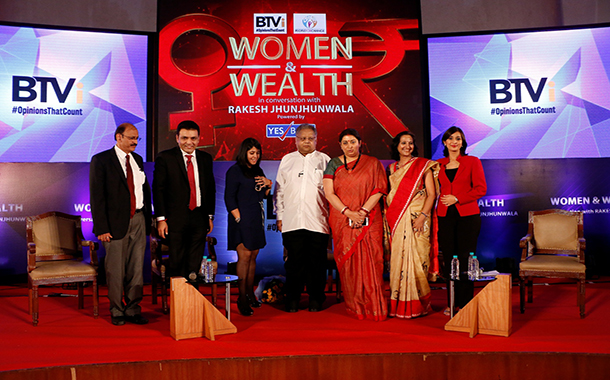 BTVi hosts Women & Wealth show with Rakesh Jhunjhunwala