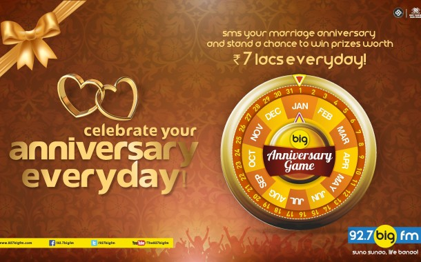 Big FM launches Big Anniversary Game for listeners on its 10th Anniversary