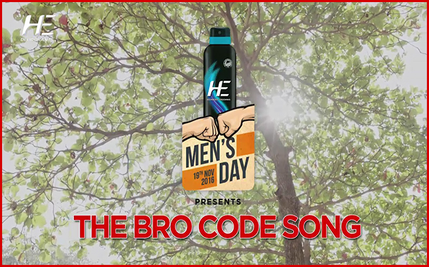 HE Deodorant celebrates International Men's Day 2016 with the 'Bro Code'