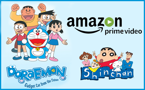 Amazon Prime gets exclusive streaming rights of Japanese Kids toons Doraemon, Shin chan and Ninja Hattori