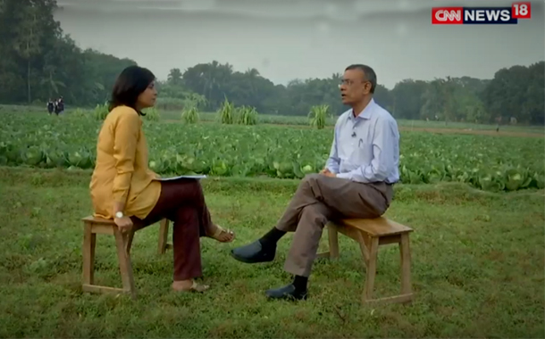CNN News18's Off Centre to feature Bandhan Bank founder Chandra Shekhar Ghosh discussing Demonetization