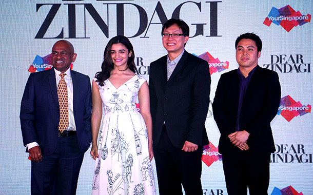 Singapore Tourism partners with Red Chillies, Dharma and Hope for Dear Zindagi