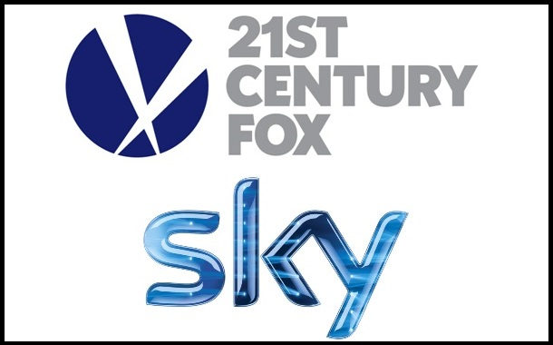 21st Century Fox to take control of UK & Europe based pay-TV giant Sky in £11.7-bn deal