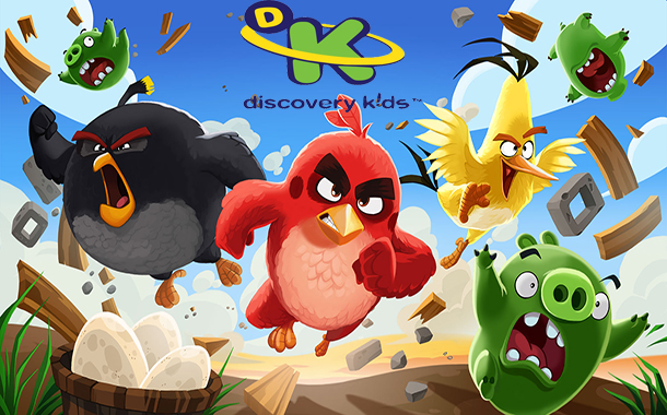 "Discovery Kids pacts with Rovio Entertainment for ""Angry Birds"" Series; to Premier in Q1 of 2017"
