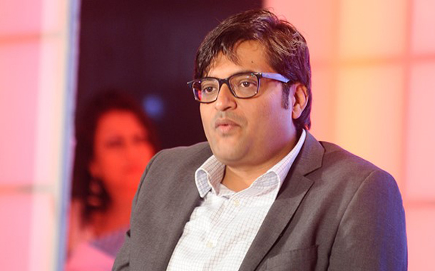 """""""I believe to take the news capital out of the national capital"""" says Arnab Goswami"""