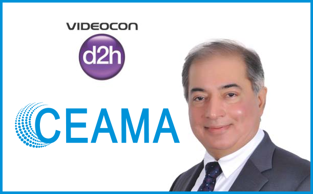 CEAMA honours Anil Khera CEO of Videocon d2h with Man of Electronics Award