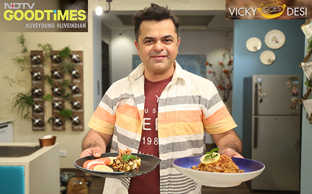 NDTV Good Times brings back Chef Vicky Ratnani in a new show Vicky goes Desi