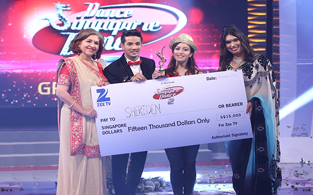 Second season of Dance Singapore Dance on Zee TV APAC ends with a spectacular grand finale