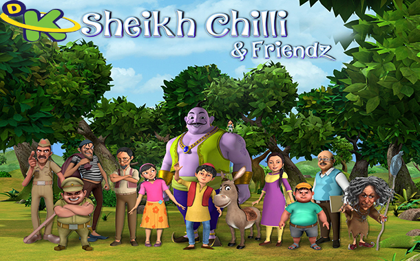 Discovery Kids to premier its 2nd Indian series Sheikh Chilli & Friends by early 2017