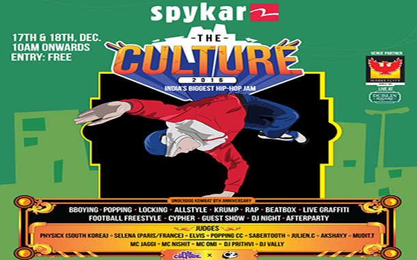 """Spykar presented the largest B-Boying dance competition """"The Culture"""""""
