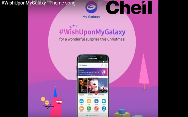 Cheil releases Samsung's #WishUponMyGalaxy digital campaign this Christmas