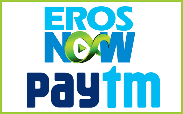Eros Now Partners with Paytm