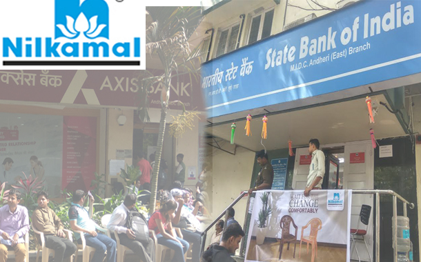 Nilkamal Supports Demonetization with CSR initiative 'Sit' rather than 'Stand'