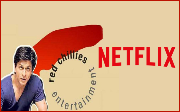 Netflix signs long term content partnership deal with Shah Rukh Khan's Red Chillies