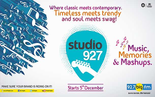Big Fm launches Studio 927; Builds a Connect across age groups recreates Magic of Retro Songs with a Contemporary Twist