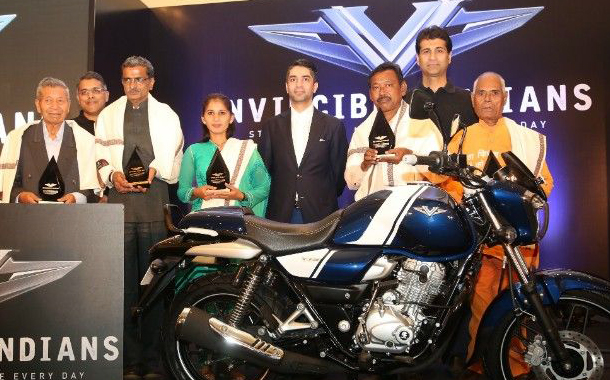 Bajaj V recognizes 'Invincible Indians' for their selfless acts of service to society
