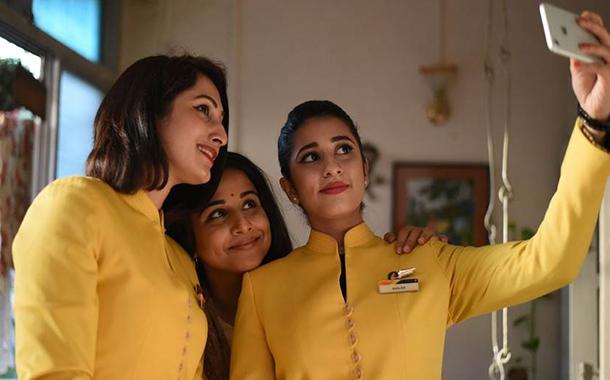 Jet Airways partners Vidya Balan starrer