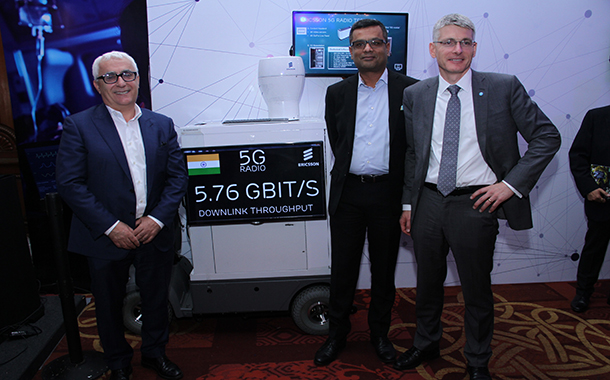 Ericsson brings the 'first ever' live demonstration of 5g to India