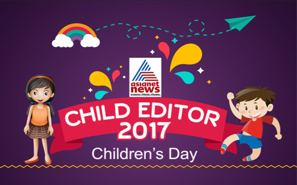 When children became editors... On Asianet News